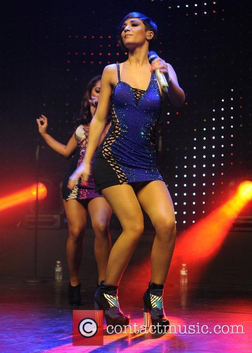 The Saturdays perform at The Sunshine Concert held...