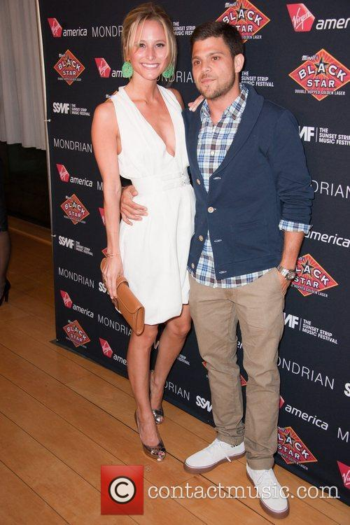 Jerry Ferrara and guest Official VIP party of...