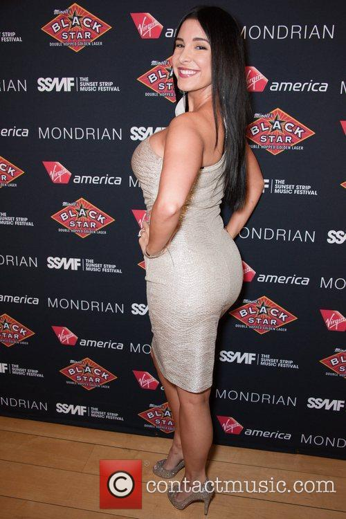 Mayra Veronica Official VIP party of the 4th...