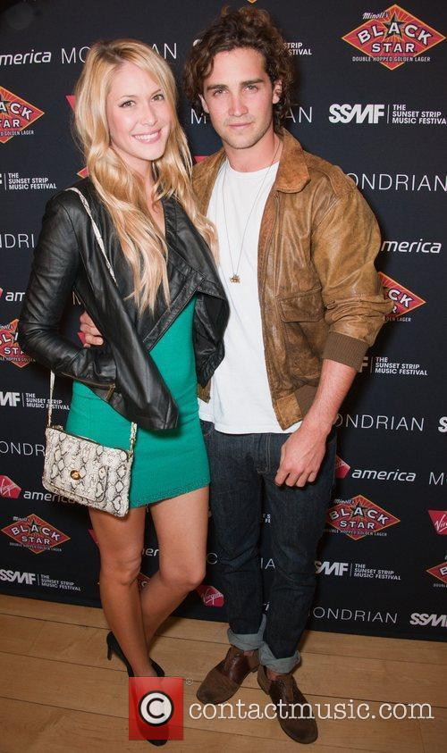 Sarah Carroll and Spencer Falls Official VIP party...