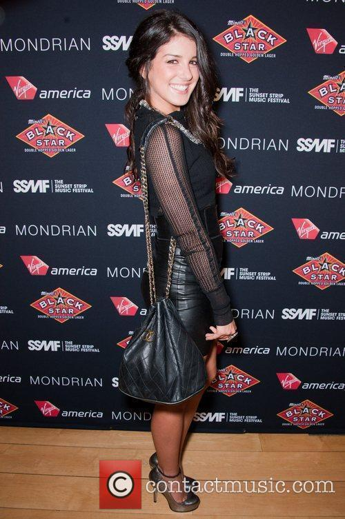 Shenae Grimes Official VIP party of the 4th...