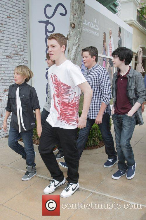 Gabriel Basso, Joel Courtney, Riley Griffiths, Ryan Lee and Zach Mills