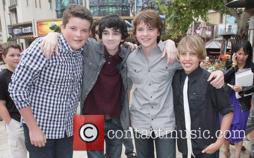 Riley Griffiths, Joel Courtney, Ryan Lee and Zach Mills 3