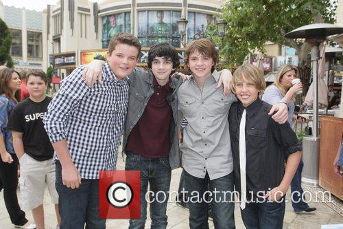 Riley Griffiths, Joel Courtney, Ryan Lee and Zach Mills 2