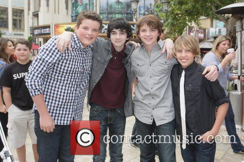 Riley Griffiths, Joel Courtney, Ryan Lee and Zach Mills 1