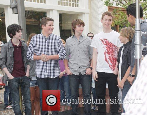 Zach Mills, Gabriel Basso, Joel Courtney, Mario Lopez, Riley Griffiths and Ryan Lee 1