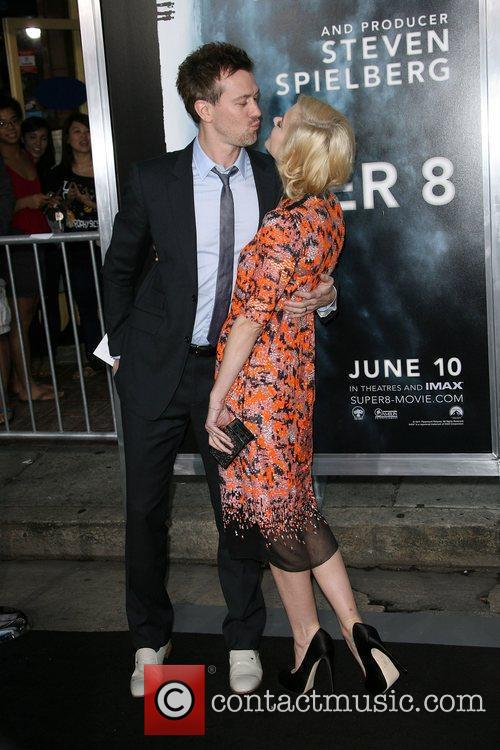 Jamie King Los Angeles Premiere of Super 8...