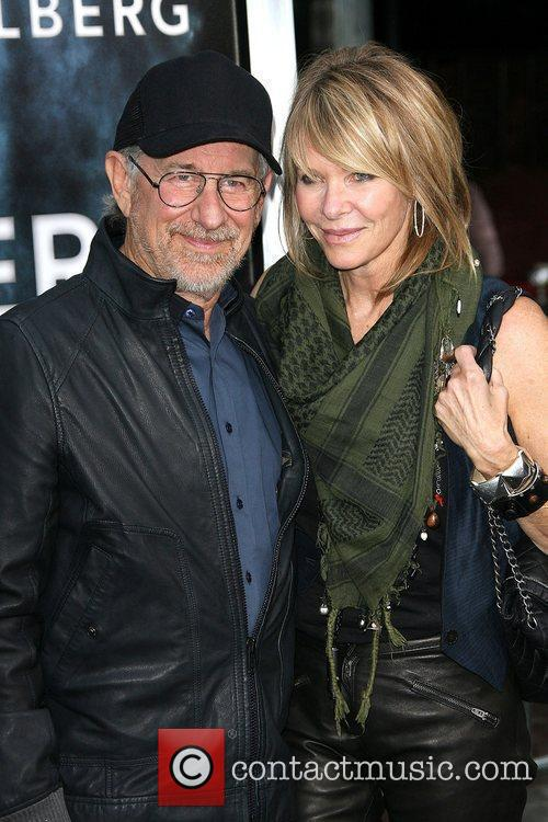 Steven Spielberg and Kate Capshaw 2