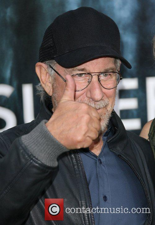 Steven Spielberg  Los Angeles Premiere of Super...