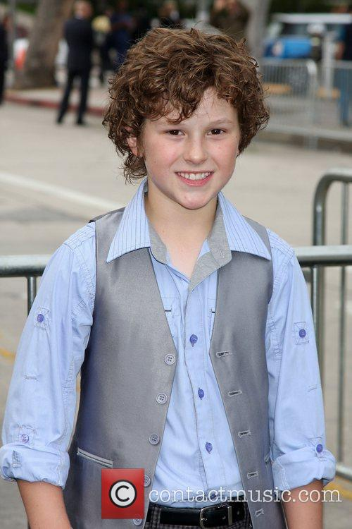 Nolan Gould Los Angeles Premiere of Super 8...