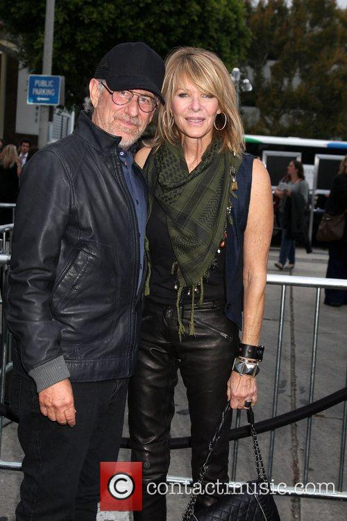 Steven Spielberg and Kate Capshaw 8