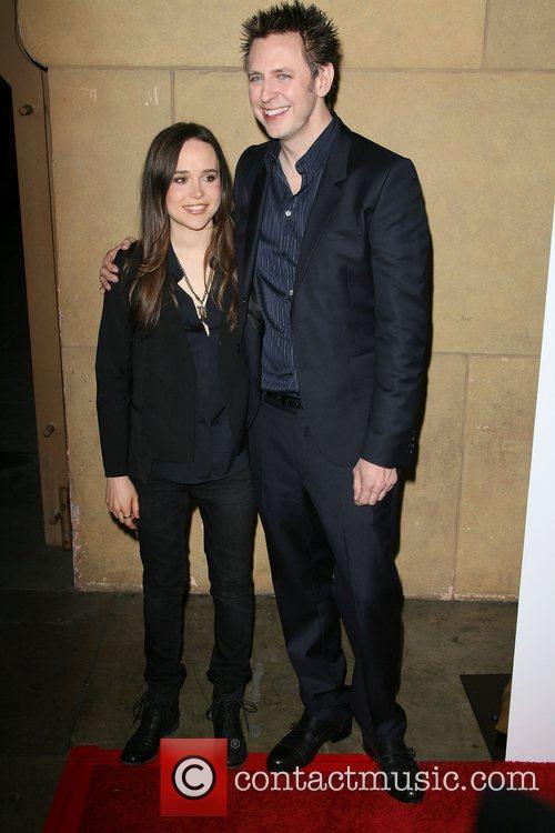 Ellen Page and James Gunn 6