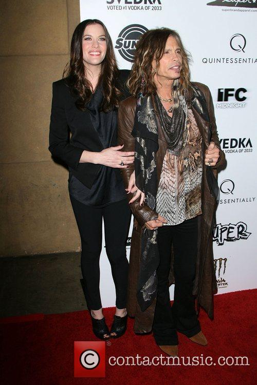 Liv Tyler and Steven Tyler 4