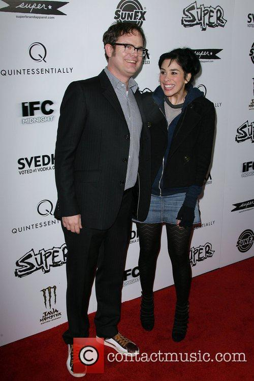 Rainn Wilson and Sarah Silverman 11