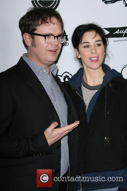 Rainn Wilson and Sarah Silverman 4
