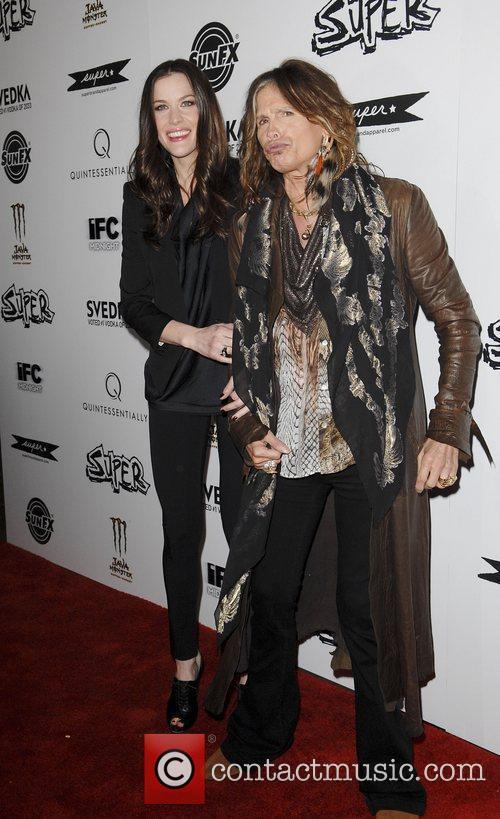 Liv Tyler and Steven Tyler 10