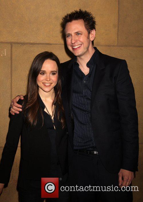 Ellen Page and James Gunn 9