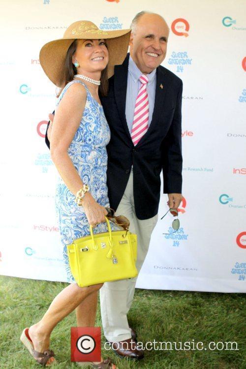 Judith Giuliani and husband Rudy Giuliani  Super...