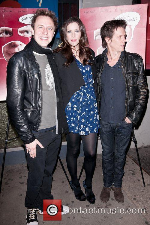 James Gunn, Kevin Bacon and Liv Tyler 6