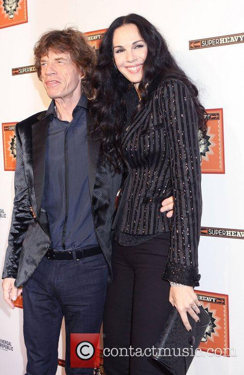 Mick Jagger and L'wren Scott 8