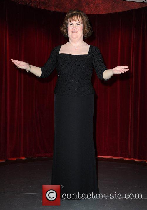 The Susan Boyle waxwork is unveiled Madame Tussauds...