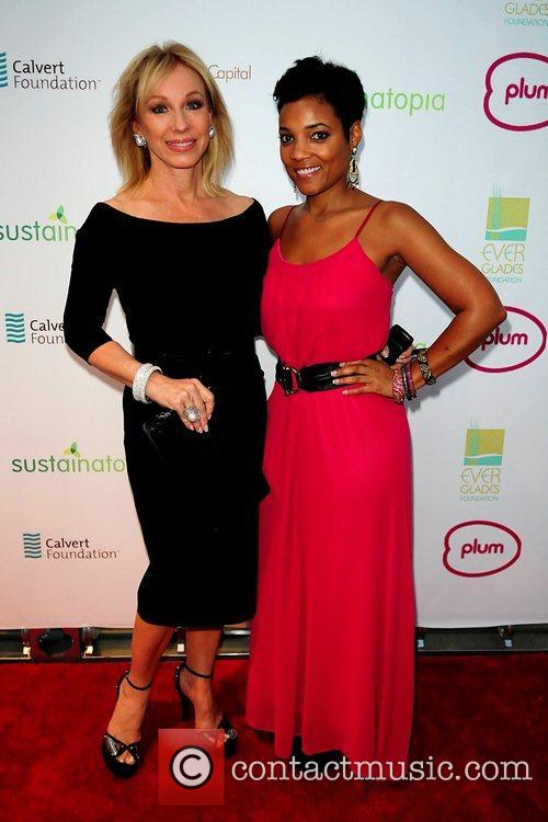 Lea Black and Amaris Jones attend the 2011...