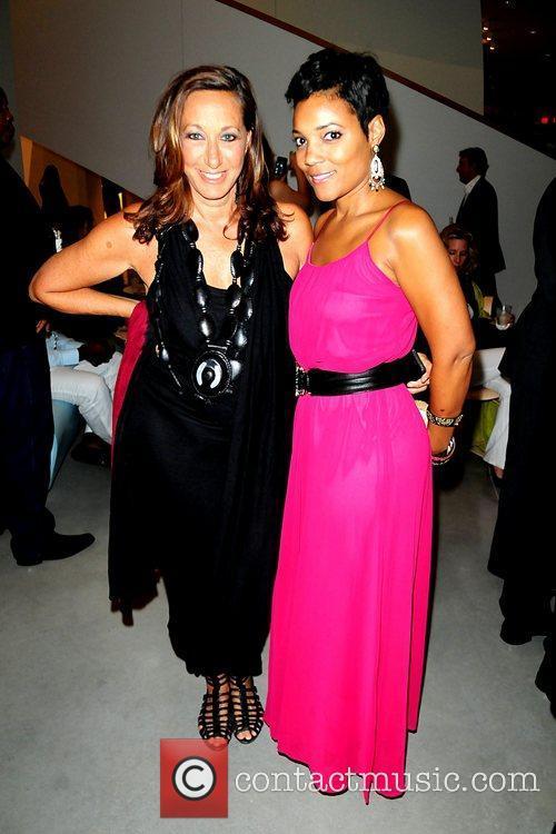 Donna Karan and Amaris Jones attend the 2011...
