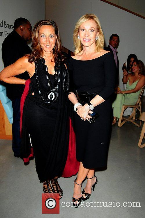 Donna Karan and Lea Black attend the 2011...