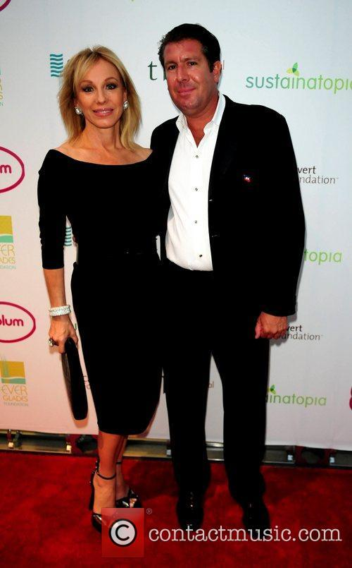Lea Black and Michael Capponi attend the 2011...