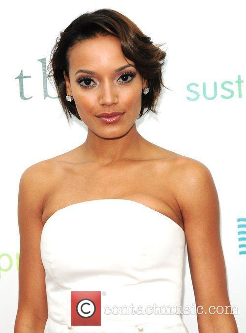 Selita Ebanks attends Sustainatopia Honors 2011presented by Plum...