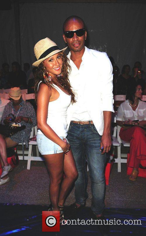 Adrienne Bailon and Travis 2