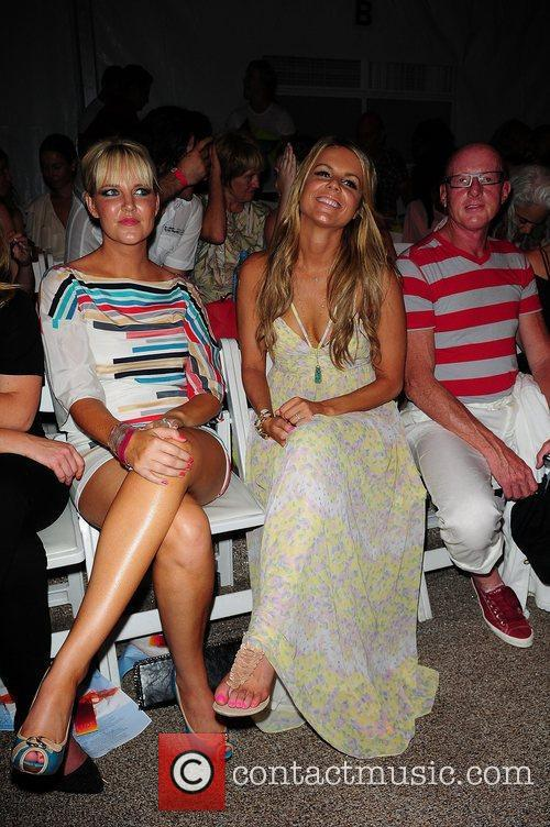 Ali Fedotowsky  Mercedes-Benz Fashion Week Swim 2012...