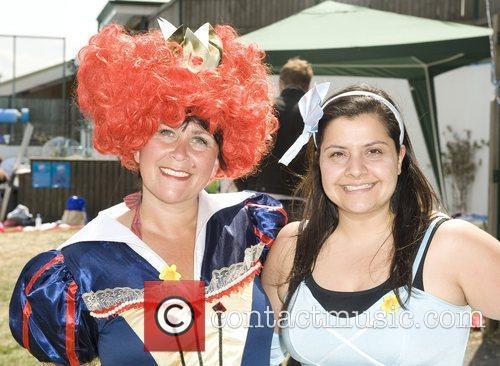 Zoe Tyler and Nina Wadia The Park Clubs...