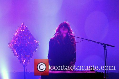 Victoria Legrand Baltimore duo Beach House performing live...