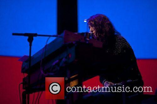Rachel Zeffira of Cat's Eyes perform at the...