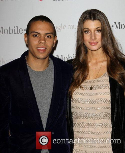 evan ross l and cora skinner celebrity 3614950