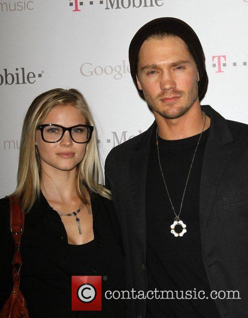 Kenzie Dalton (L) and Chad Michael Murray Celebrity...