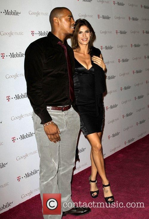 mehcad brooks and elisabetta canalis celebrity magenta carpet 3614938