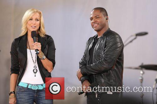 Taio Cruz performs on ABC's 'Good Morning America'...
