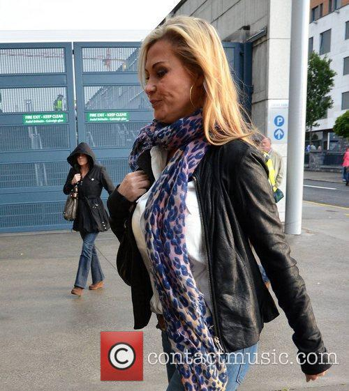 Alison Doody Guests arrive at the VIP entrance...