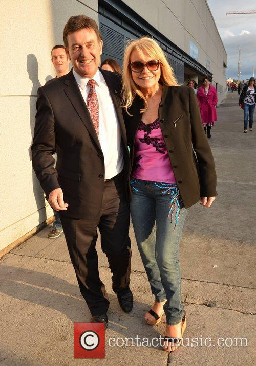 Bill Cullen, Jackie Lavin Guests arrive at the...