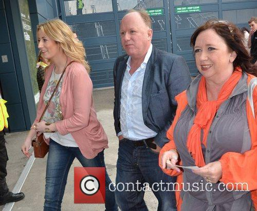 Tony Fenton Guests arrive at the VIP entrance...