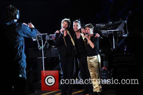 Performing live at Sunderland Stadium of Light on...