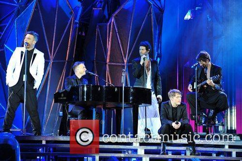 Robbie Willams, Gary Barlow, Howard Donald, Mark Owen...