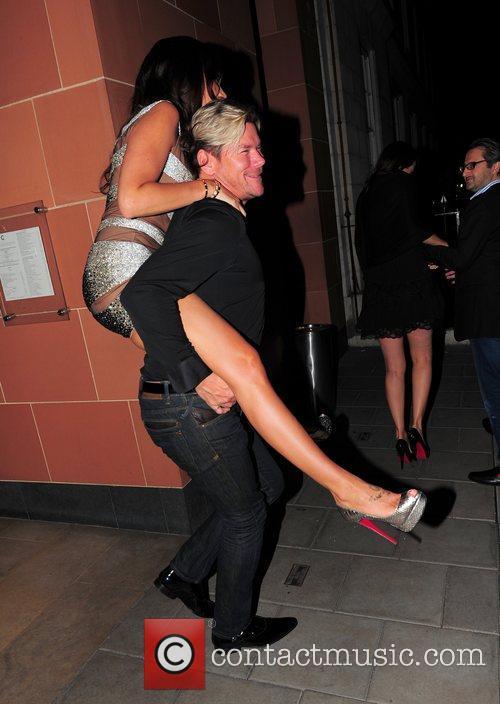 Tamara Ecclestone and Phil Turner Tamara Ecclestone celebrates...
