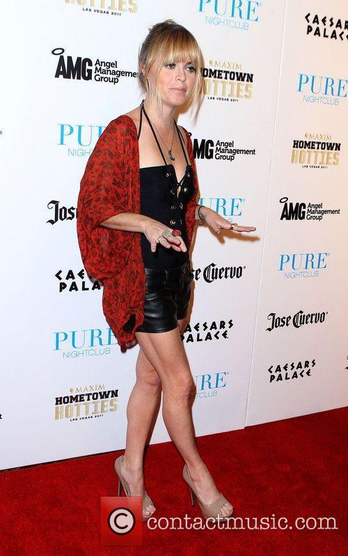Taryn Manning performs a DJ set at Pure...