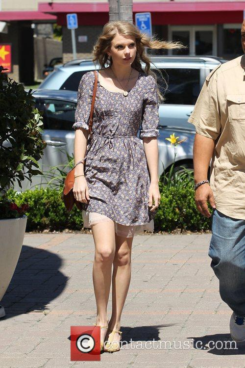 After shopping at Anthropology in Beverly Hills