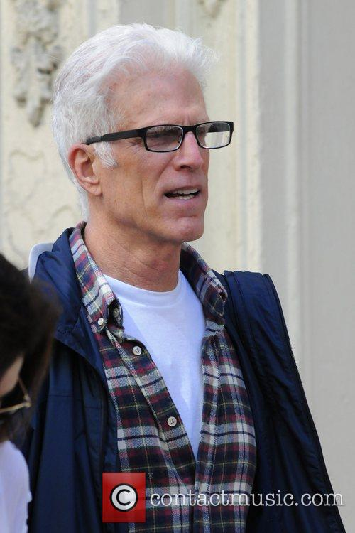 Ted Danson out and about in New York...