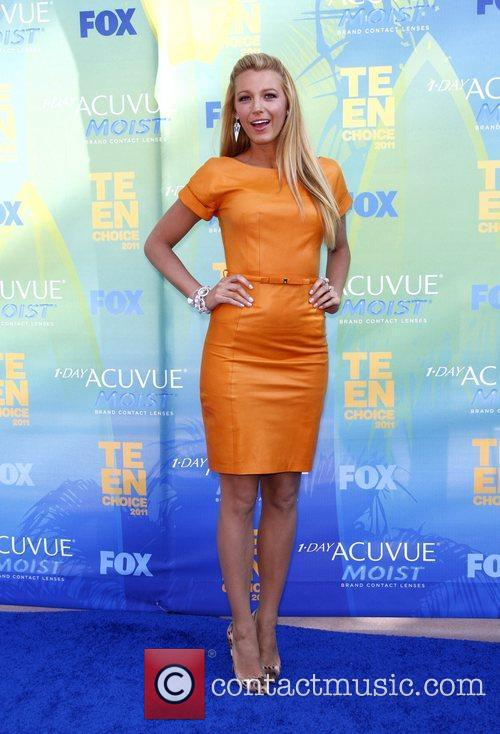 Blake Lively  2011 Teen Choice Awards held...
