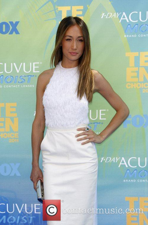 Maggie Q  2011 Teen Choice Awards held...